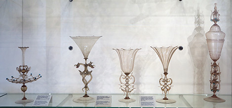 Cristallo Murano Glass Goblets