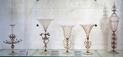 Cristallo Murano Glass Goblets
