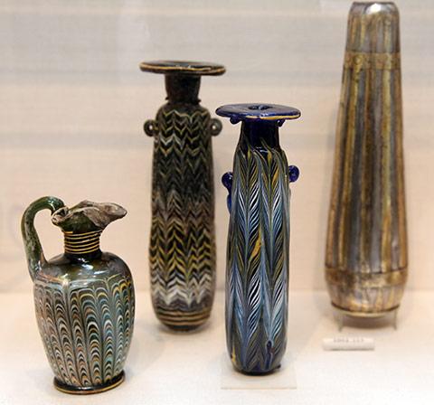 Fenicio Murano Glass Vases