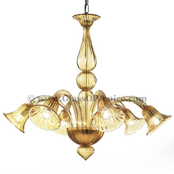 Serenissima series Chandelier 6 lights