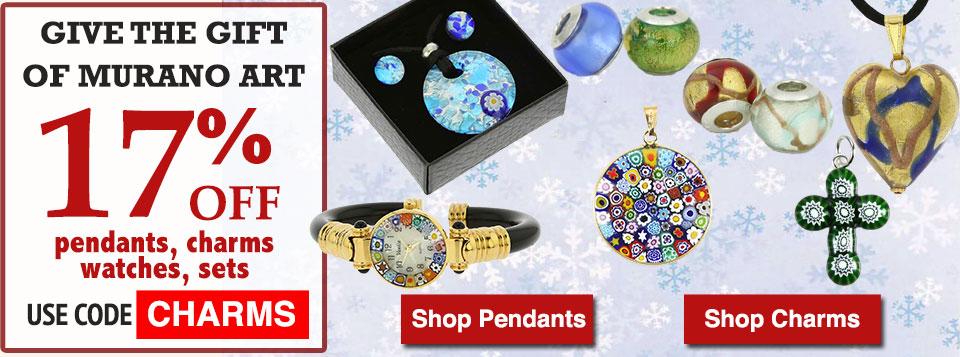 Murano Glass Jewelry 17% OFF