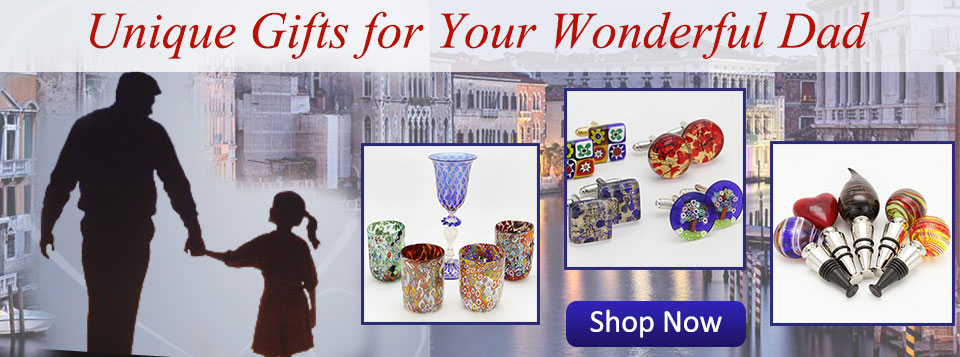 murano glass fathers day gifts
