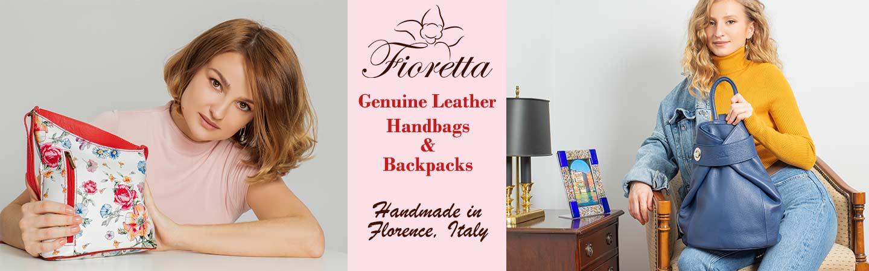 Fioretta Italian Leather Bags and Accessories