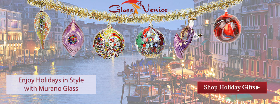 Murano Glass Holiday Gifts