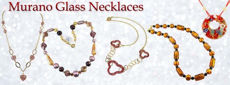 Murano Glass Jewelry & Watches made In Venice, Italy