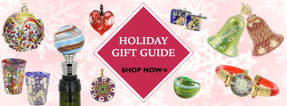 Murano Glass Christmas And Holiday Gifts