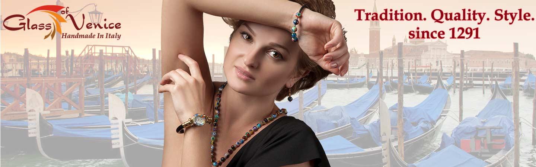 GlassOfVenice Murano Glass Jewelry
