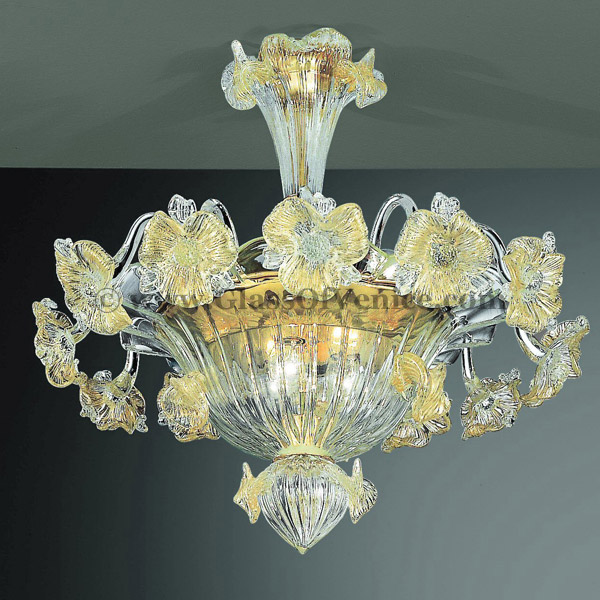 Tiepolo series Ceiling lamp 6 lights